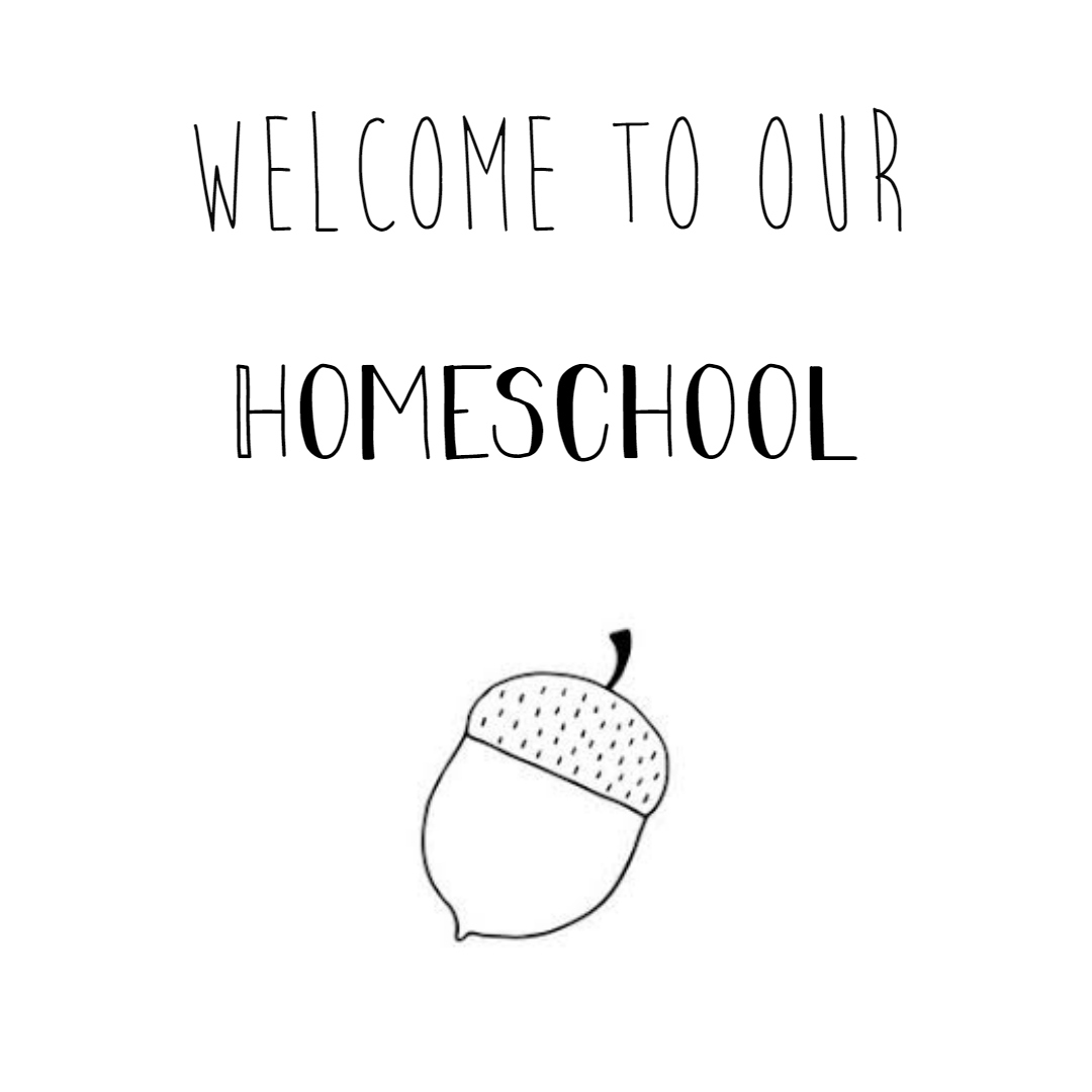 welcome to our homeschool